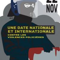 [França] 22 de novembro: Dia internacional contra a violência policial e a repressão