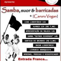 Salvador: Inauguração do Centro de Cultura Social Maloca Libertária