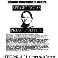 [Costa Rica] Sergio Rojas Livre! Autonomia, terra e liberdade!