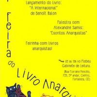 I Feira do Livro Anarquista de Fortaleza acontece neste sábado