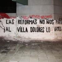 [Uruguai] As reformas não nos pararão, a Villa Dolores vamos fechar!