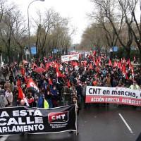 [Espanha] 21M: CNT em Marcha, CNT em Luta