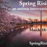 [EUA] Spring Rising: Uma intervenção antiguerra em Washington-DC