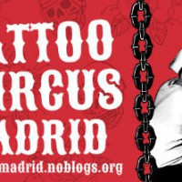 [Espanha] Começa nesta sexta-feira a 3ª Tattoo Circus Madri