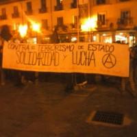 [Espanha] Crônica da manifestação em apoio aos anarquistas detidos em Palencia