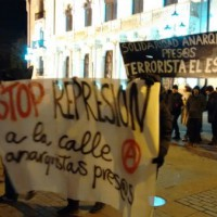 [Espanha] Crônica da manifestação em Gamonal pela liberdade das detidas por lutar