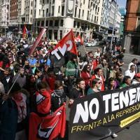 """[Espanha] Madri: Protesto anti repressão """"Não temos medo"""""""