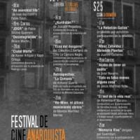 [Espanha] Saiu a programação do 3º Festival de Cinema Anarquista de Madri