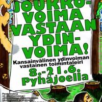 """[Finlândia] Poder Popular Contra o Poder Nuclear! """"Antinuclear Action Camp"""", de 8 a 21 de junho de 2015"""
