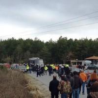 [Grécia] Calcídica: Polícia, mineiros e valentões da empresa mineradora atacam a manifestantes antimineração