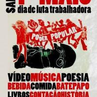 [Joinville-SC] Sarau 1º de Maio: combater as ações e mentiras do capitalismo e do Estado