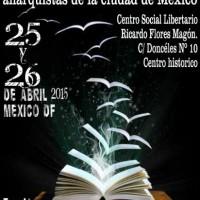[México] 6ª Feira do Livro e Publicações Anarquistas da Cidade do México acontece neste fim de semana