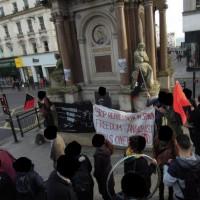 [Reino Unido] Brighton: Crônica da manifestação em solidariedade com os presos no estado espanhol