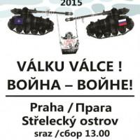 [República Tcheca] Praga: Primeiro de Maio - Internacionalismo contra o militarismo