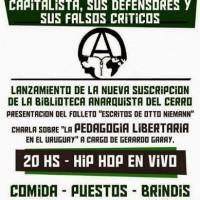 [Uruguai] Montevidéu: 9 anos da Biblioteca Anarquista do Cerro