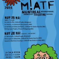 [Canadá] Festival Internacional de Teatro Anarquista de Montreal, 19 e 20 de maio