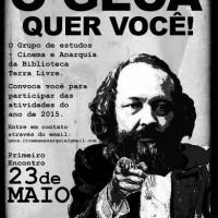 [São Paulo-SP] Chamado para o Grupo de Estudo de Cinema e Anarquia 2015