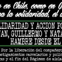 [Chile] Chamado à solidariedade com a greve de fome de Nataly, Juan, Guillermo e Enrique