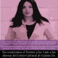 [Espanha] Carta-Manifesto de Noelia Cotelo Riveiro escrita durante sua greve de fome de março e abril e retida pelos carcereiros