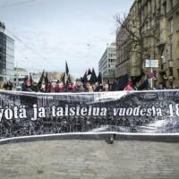 [Finlândia] Crônica do 1º de Maio em Helsinki