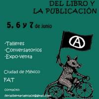 [México] Feira Libertária do Livro e da Publicação do DF