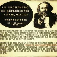 [México] III Encontro de Reflexões Anarquistas, 28 e 29 de maio