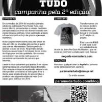 Campanha pela 2ª edição do projeto Para Mudar Tudo