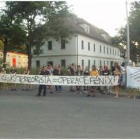 [República Tcheca] Notícias de uma manifestação de solidariedade em Praga