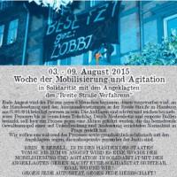 """[Alemanha] Semana de agitação e propaganda em solidariedade com os acusados do """"Caso Breite Straße"""", de 3 a 9 de agosto de 2015"""
