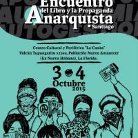 [Chile] 4º Encontro do Livro Anarquista de Santiago!