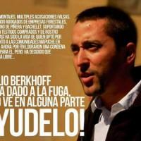 [Chile] Declaração de Emilio Berkhoff assumindo a clandestinidade