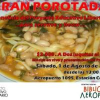 """[Chile] Santiago: """"Porotada"""" em Benefício do Projeto Educativo Libertário, 01 de agosto"""