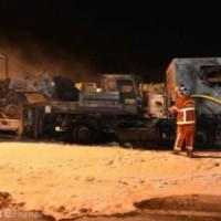 [França] 10 caminhões em chamas