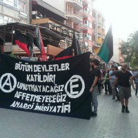 [Turquia] Anarquistas detidos em ato em memória pelos seus companheiros assassinados em Suruç