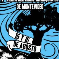 [Uruguai] 4ª Feira do Livro Anarquista de Montevidéu 2015