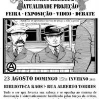 [Porto Alegre-RS] Evento: Sacco e Vanzetti, Memória Rebelde – Atualidade & Projeção