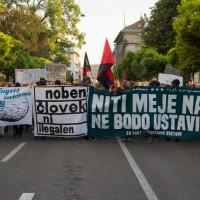 [Eslovênia] Milhares de pessoas vão às ruas em manifestação em favor de refugiados
