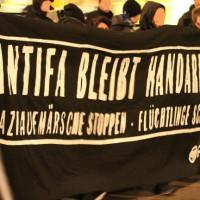 [Alemanha] Colônia: polícia ataca a marcha antifascista contra neonazistas do HoGeSa