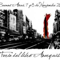 [Argentina] Buenos Aires: Feira do Livro e Difusão Anarquista, 7 e 8 de novembro de 2015