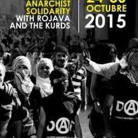 Convocatória anarquista internacional em solidariedade com Rojava e o povo curdo, entre os dias 24 e 30 de outubro