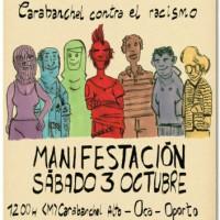 [Espanha] Madri: Manifestação contra o racismo em Carabanchel, por um bairro para todas