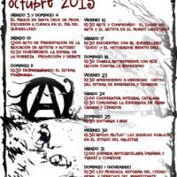 [Espanha] Outono Libertário: Jornada Contra os Cárceres