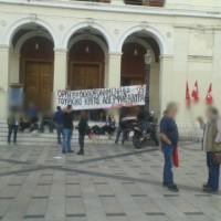 [Grécia] Patras: Manifestação em solidariedade com os lutadores turcos e curdos
