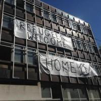 [Grécia] Translado da Okupa de Alojamento para Refugiados