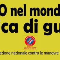 """[Itália] Nápoles: Manifestação nacional contra o exercício militar da OTAN """"Trident Juncture 2015"""""""