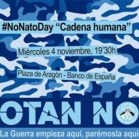 [Espanha] 4-N: #NoNatoDay contra a visita do secretário geral da OTAN