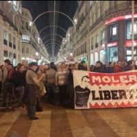 [Espanha] Francisco Molero condenado a 5 anos de prisão por participar em manifestação