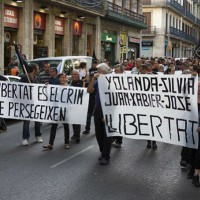 [Espanha] Juiz arquiva processo contra cinco anarquistas de Barcelona que passaram 123 dias na prisão
