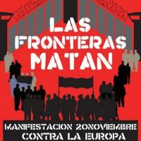 [Espanha] Manifestação: As Fronteiras Matam – Contra a Europa Racista e Colonialista