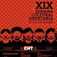 [Espanha] XIX Semana Cultural Libertária acontece de 21 a 28 de novembro